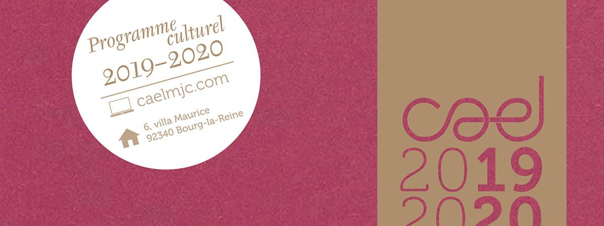 Programme Culturel 2019 2020