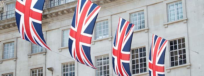 Drapeaux britanniques
