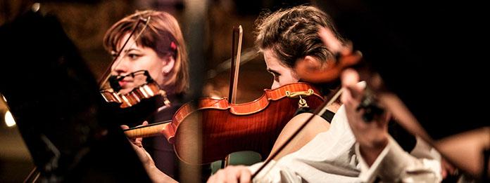 Duo de violonistes